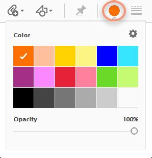 html color picker from image use annotation and drawing markup tools to add comments in