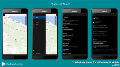 mapper windows differenze tra windows phone 8 1 e windows 10 mobile