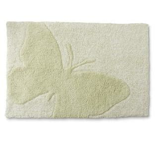 Butterfly Bathroom Rug Essential Home Bath Rug Butterfly