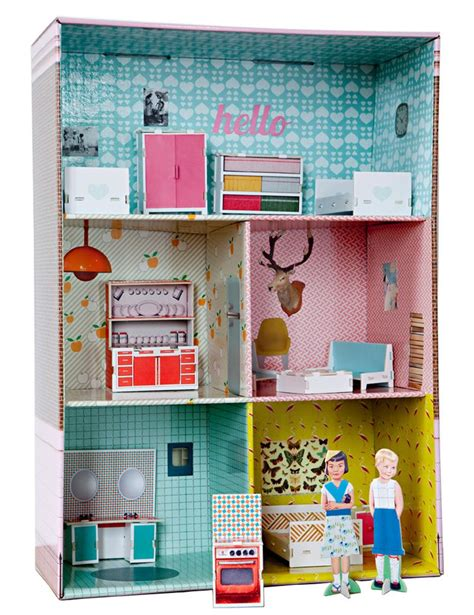 cardboard dolls house 558 best images about paper doll house on pinterest dollhouse miniatures paper