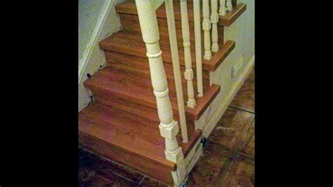 LAMINATE FLOORING INSTALLED ON STAIRS,LAMINATE STAIRS