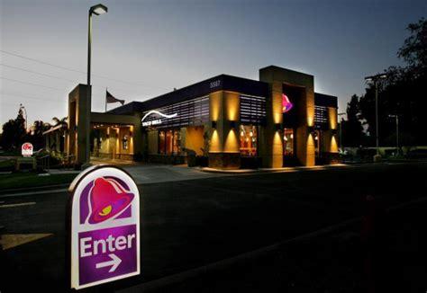 taco bell light menu taco bell shines purple in a way yum brands