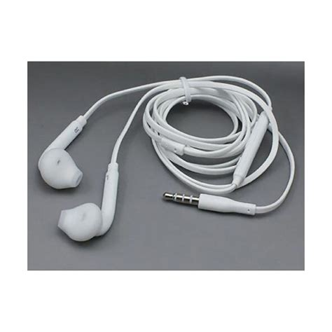 Headset Samsung S6 S6 Headset S6 samsung galaxy s6 edge white earphone headset