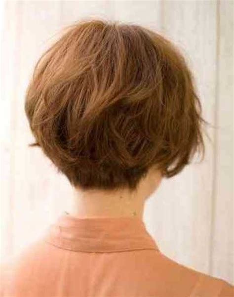 back and side view of short layered hairstyles back view bob pictures hair cuts short hairstyle 2013