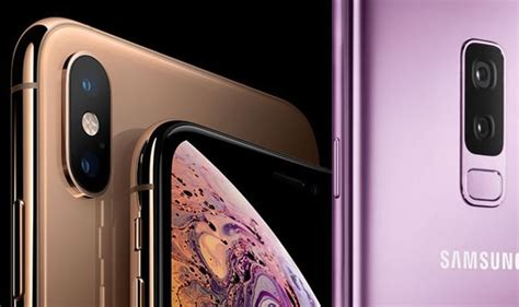 A Samsung Galaxy S10 Has Exploded by Galaxy S10 V Iphone Xs One Smartphone May Scored A Major Victory Express Co Uk