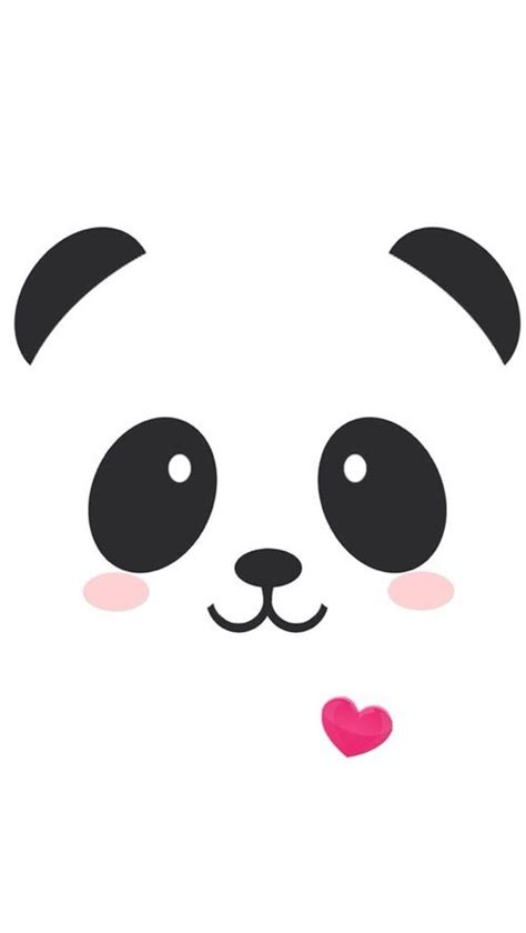 wallpaper iphone panda panda kawaii iphone wallpaper cute another one for
