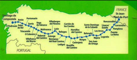 camino de santiago maps camino de santiago map related keywords camino de