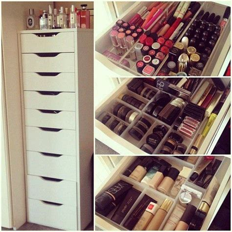 makeup organizer ikea 25 best ideas about makeup storage on pinterest makeup