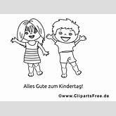 Bildtitel: Lustige Bilder mit Kindern zum Ausmalen
