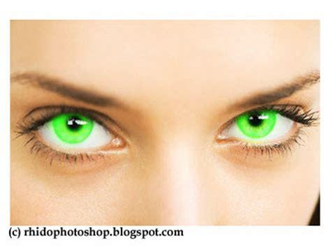 cara membuat warna bola mata menjadi coklat membuat bola mata hitam menjadi hijau ini tutorial