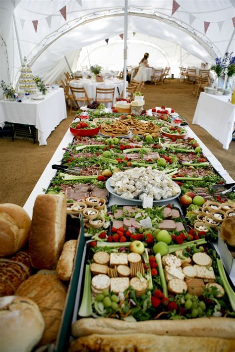 buffet wedding reception estilos de buffet r 250 stico chic para tu boda my wedding