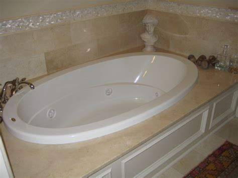 bathtub deck tub deck crema marfil traditional bathroom new