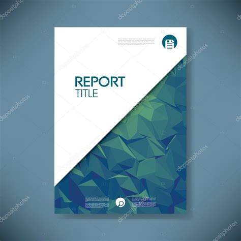 cover report template business report cover page template 60 images