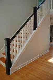 Wood Banisters For Stairs 25 Best Ideas About Wood Stair Railings On Pinterest