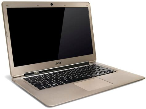 Laptop Acer Aspire S3 Ultrabook I5 acer aspire s3 391 i5 4gb 500gb 13 3 inch windows 8 ultrabook in gold