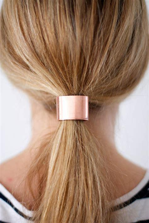 Ties Hair tie one on 2 materials 4 diy hair cuffs brit co