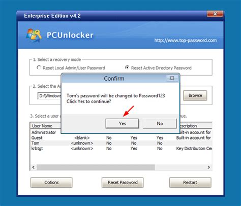 reset password windows xp domain reset domain password from command line password recovery