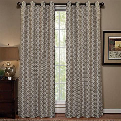 bed bath beyond curtain panels anello grommet top window curtain panel bed bath beyond