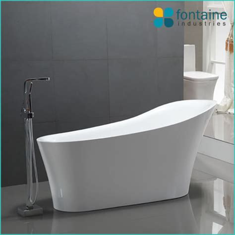 bathtub melbourne hepburn freestanding bath with overflow fontaine industries