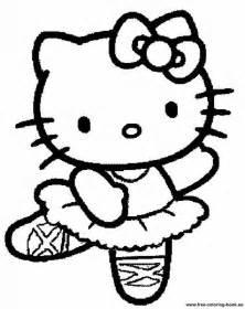 Hello Kitty Stencil Printable Coloring Home