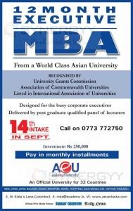 12 Month Mba Program by 12 Month Executive Mba From Asia E Education