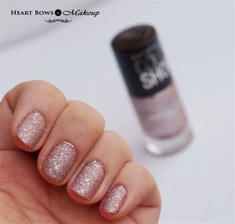 Maybelline Nail maybelline colorshow glitter mania nail pink