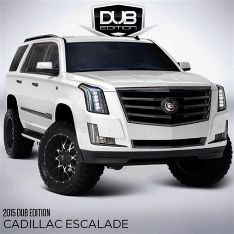 Cadillac Escalade Lifted by How About A Lftdxlvld Version Of The New Cadillac