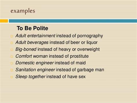 Euphemismen definition of marriage