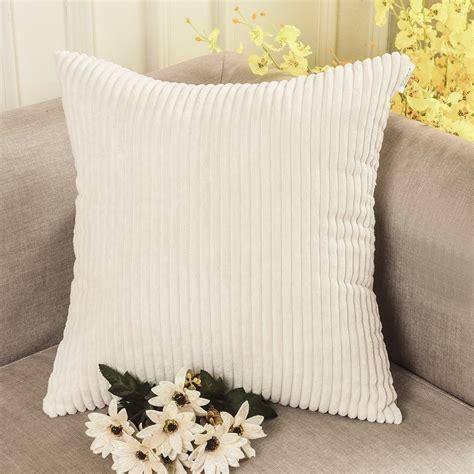 cream corduroy sofa 72 off home brilliant solid decorative toss pillow case