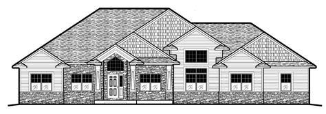 15 harmonious two story house plans with front porch 2096r 564 15 prull custom home designs house plans