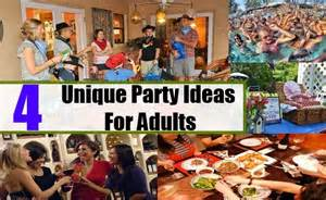 Unique party ideas for adults how to organize a party for adults