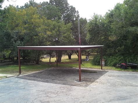 Free Standing Car Ports by Free Standing All Metal Carport Karnes County