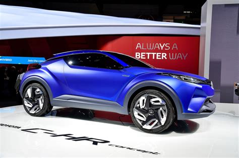 crossover toyota toyota c hr concept crossover unveiled before paris auto show