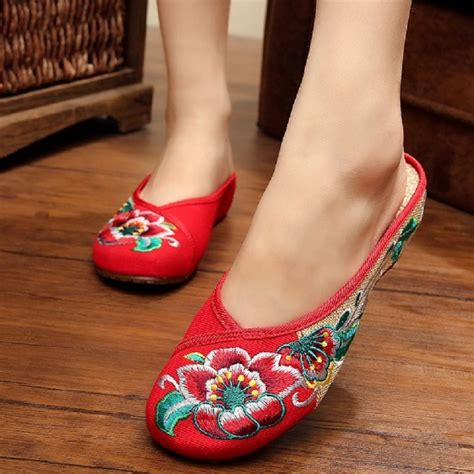 slippers china buy wholesale embroidered slippers from