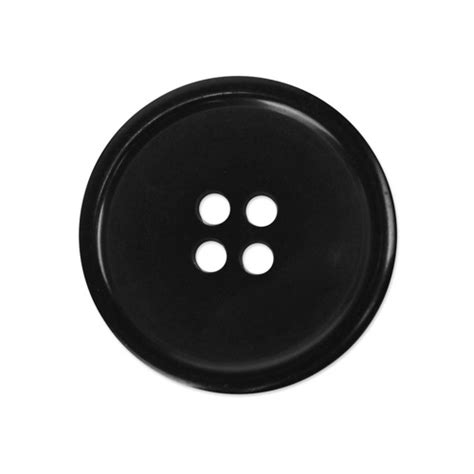 Button Black by Bulk Buttons Black 1 Dozen
