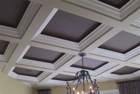 Adding Tray Ceiling by Ceiling Soffit Types Basement Finish Design