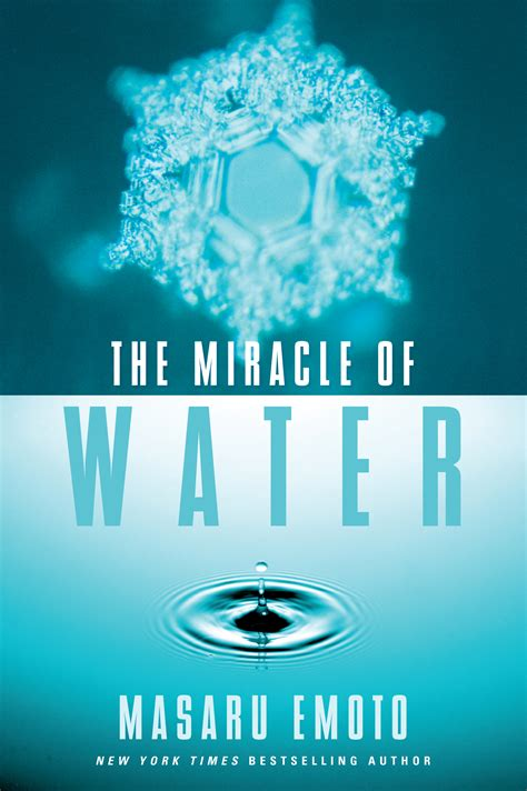 water book the miracle of water book by masaru emoto official publisher page simon schuster