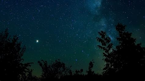 wallpaper  starry sky night stars