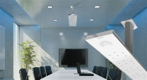 Clearone Ceiling Mic by Clearone Highlights Another Beamforming Microphone