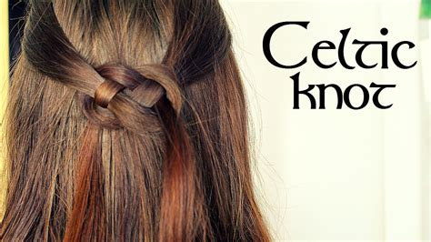 how to do knot hairstyles celtic knot hair tutorial loepsie