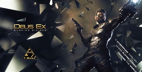 T Shirt Deus Ex Mankind Divided 2 deus ex 4 mankind divided announced for pc xbox one ps4