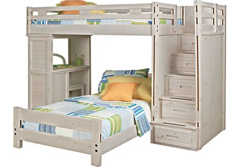 Creekside Bunk Beds Creekside Wash Step Bunk Bed With Desk Beds