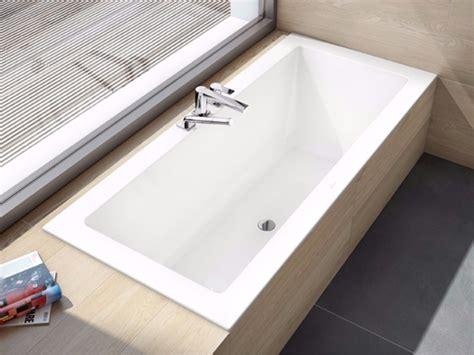 vasca da bagno a incasso legato vasca da bagno da incasso by villeroy boch