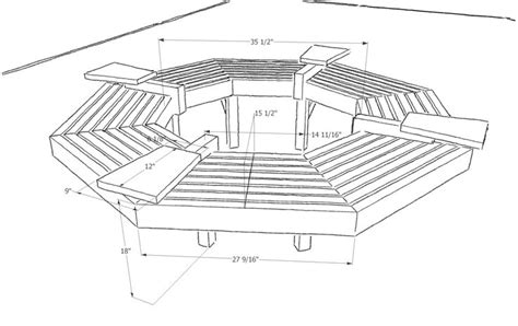 around the tree bench plans woodworking projects plans