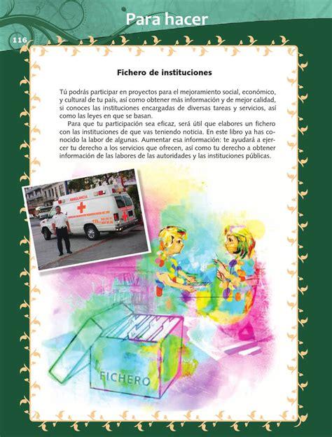 libro de formacion issuu libro f civica 6 grado 2015 2016 newhairstylesformen2014 com