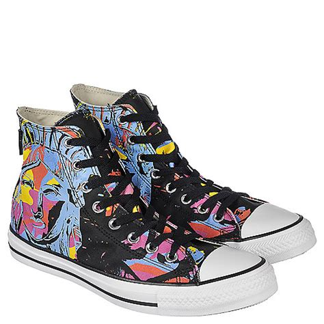 converse andy warhol ct hi unisex black casual lace up