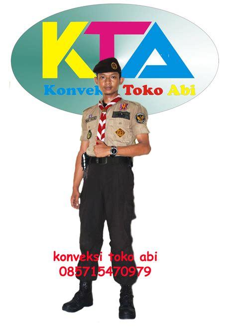 Seragam Pramuka Seragam Sekolah Baju Penegak Pi No 18 seragam sekolah olahraga konveksi toko abi