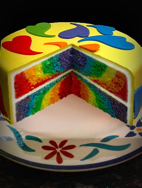 layered rainbow 1000 images about cake ideas on pinterest les