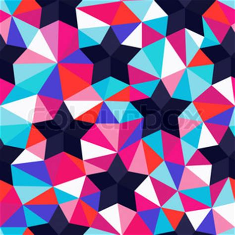 pattern background repeat vector background of repeating geometric stars and