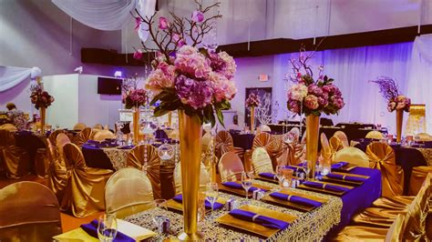purple and gold decorations purple and gold wedding reception decorations wedding